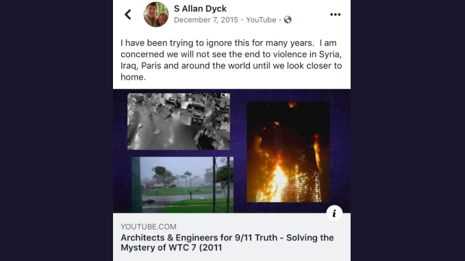 Green candidate in Guelph turns out to be 9/11 truther