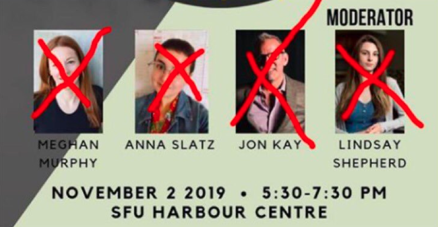 Free speech event at SFU in jeopardy after threats of violence