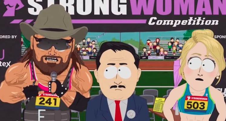South Park takes on trans athletes in women's sports