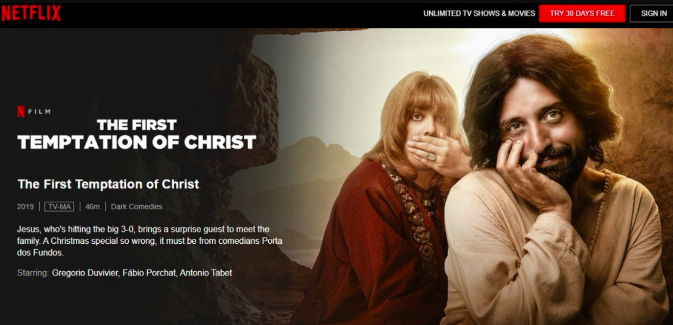 New gay Jesus film on Netflix sparks outrage