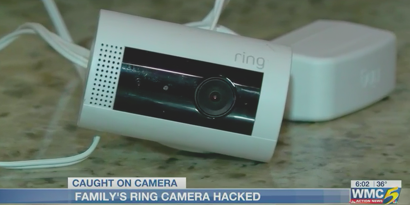 According to a Tennessee couple, a man hacked into their Ring security camera system and was talking to their daughter while pretending to be Santa.
