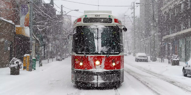WHITE CHRISTMAS: GTA will have snow for the holidays