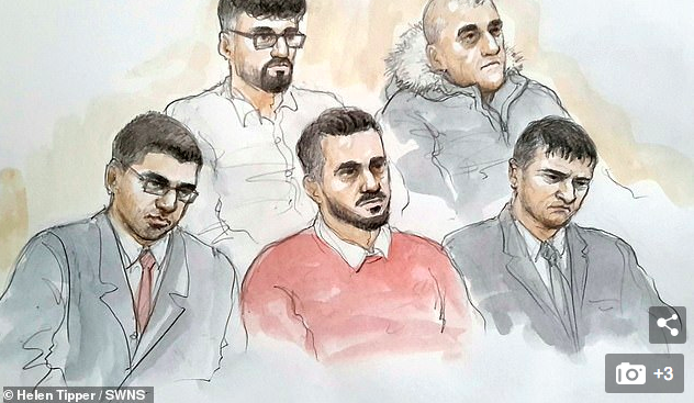 Four men in Telford found guilty of sexually abusing young girl