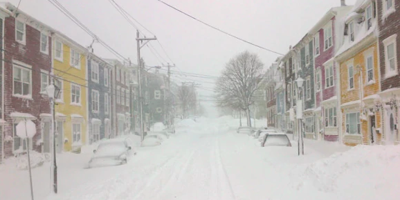 State of emergency declared for St John's Newfoundland due to extreme weather