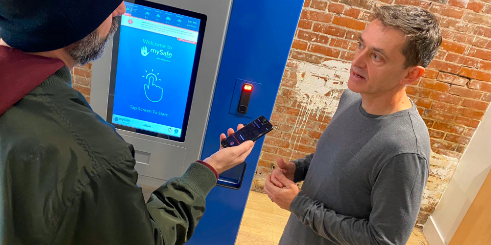 First biometric opioid vending machine in the world introduced in Vancouver