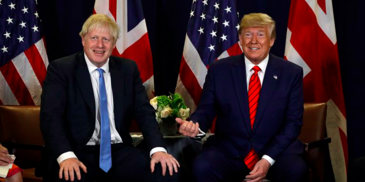 Boris Johnson allows Huawei role in 5G networks despite Trump's warnings