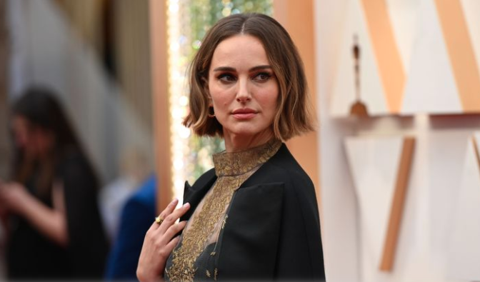 Natalie Portman's golden protest dress shows how clueless Hollywood is