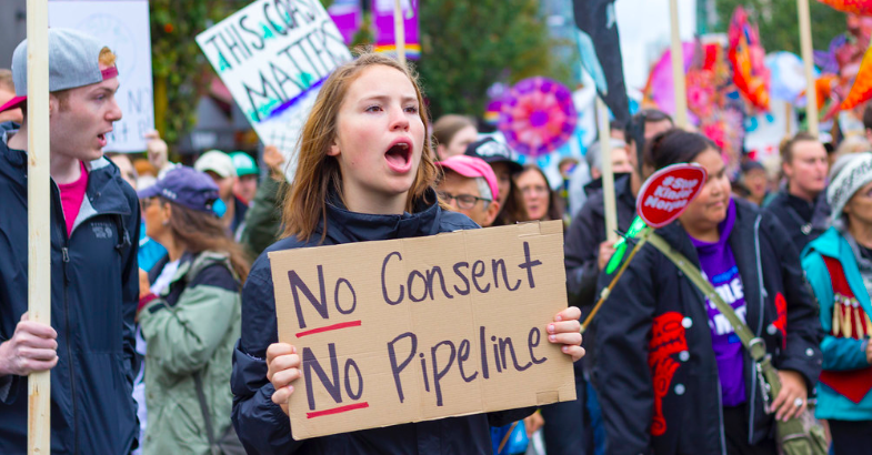 Westbank First Nation member questions hereditary chiefs' anti-pipeline support