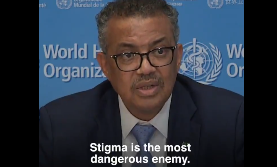The World Health Organization is to blame