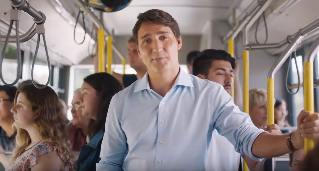 Trudeau's campaign launch is disingenous and distasteful