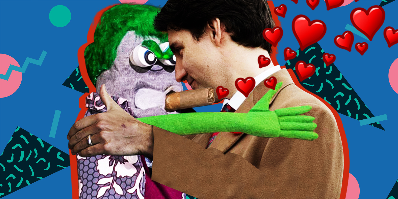 If the sock fits: Ed the Sock is the perfect bootlicker for Justin Trudeau