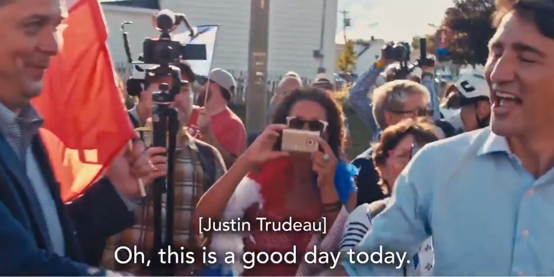 """WATCH: Scheer confronts Trudeau face to face, says """"Stop lying to Canadians"""""""