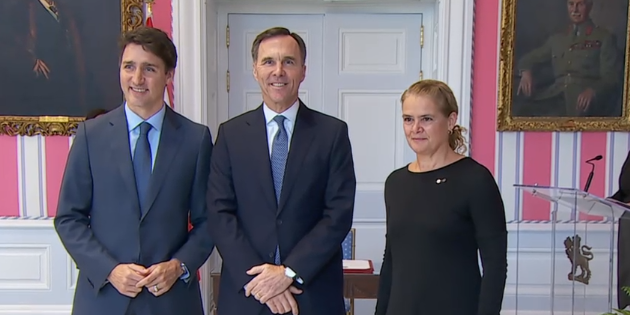 Trudeau announces new cabinet
