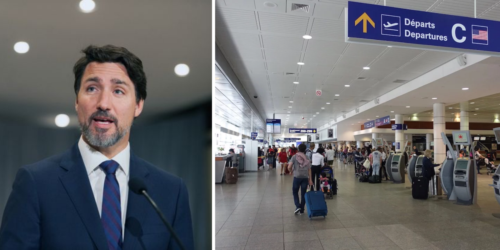 Frustrated with Trudeau government inaction, three provinces deploy officers to airports