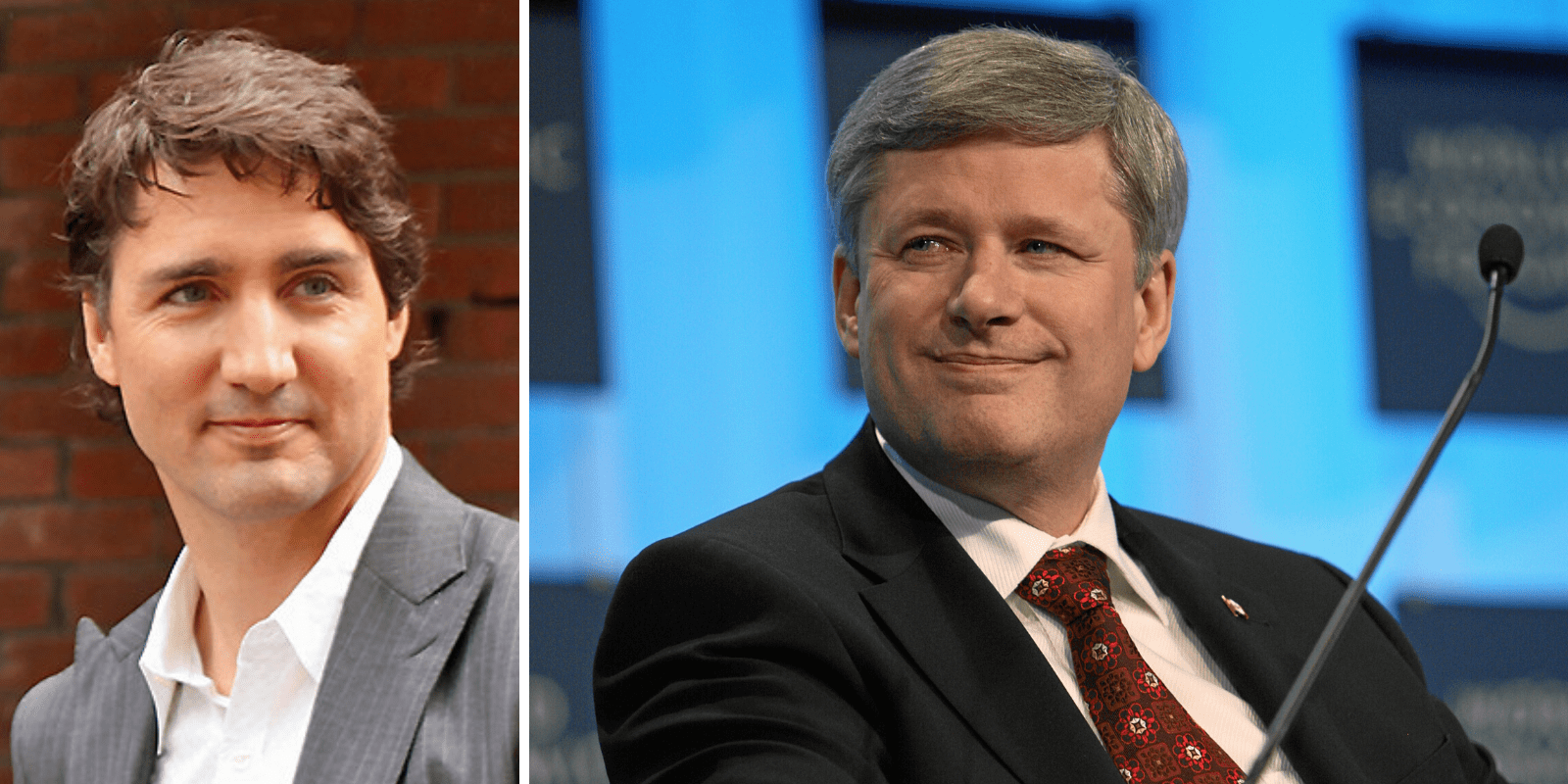Now would be a good time to have a serious leader like Stephen Harper in charge