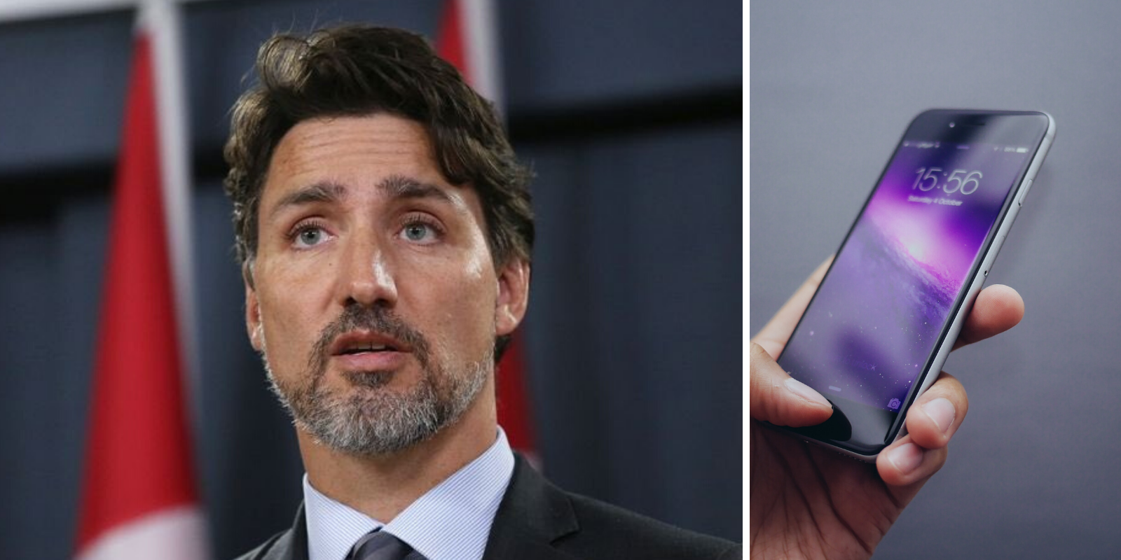 Trudeau says tracking Canadians with their cell phones 'on the table'