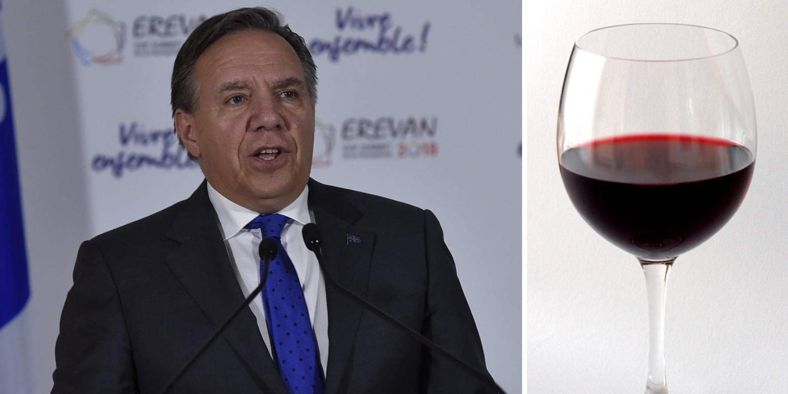 'A GLASS OF WINE': Quebec premier offers stress relief advice for those in quarantine