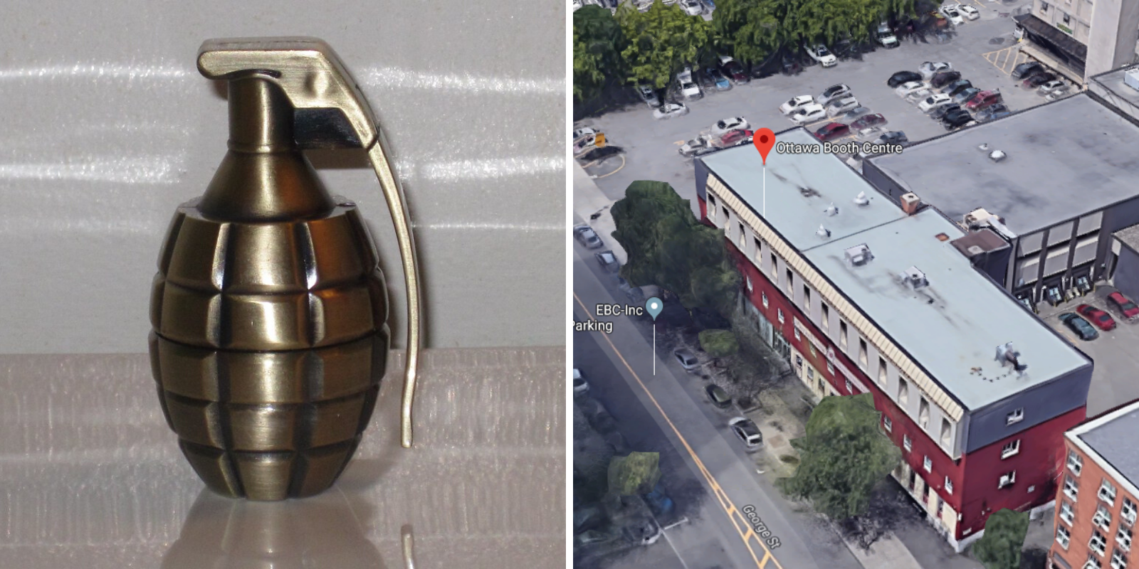 Grenade threat at Ontario Salvation Army being investigated