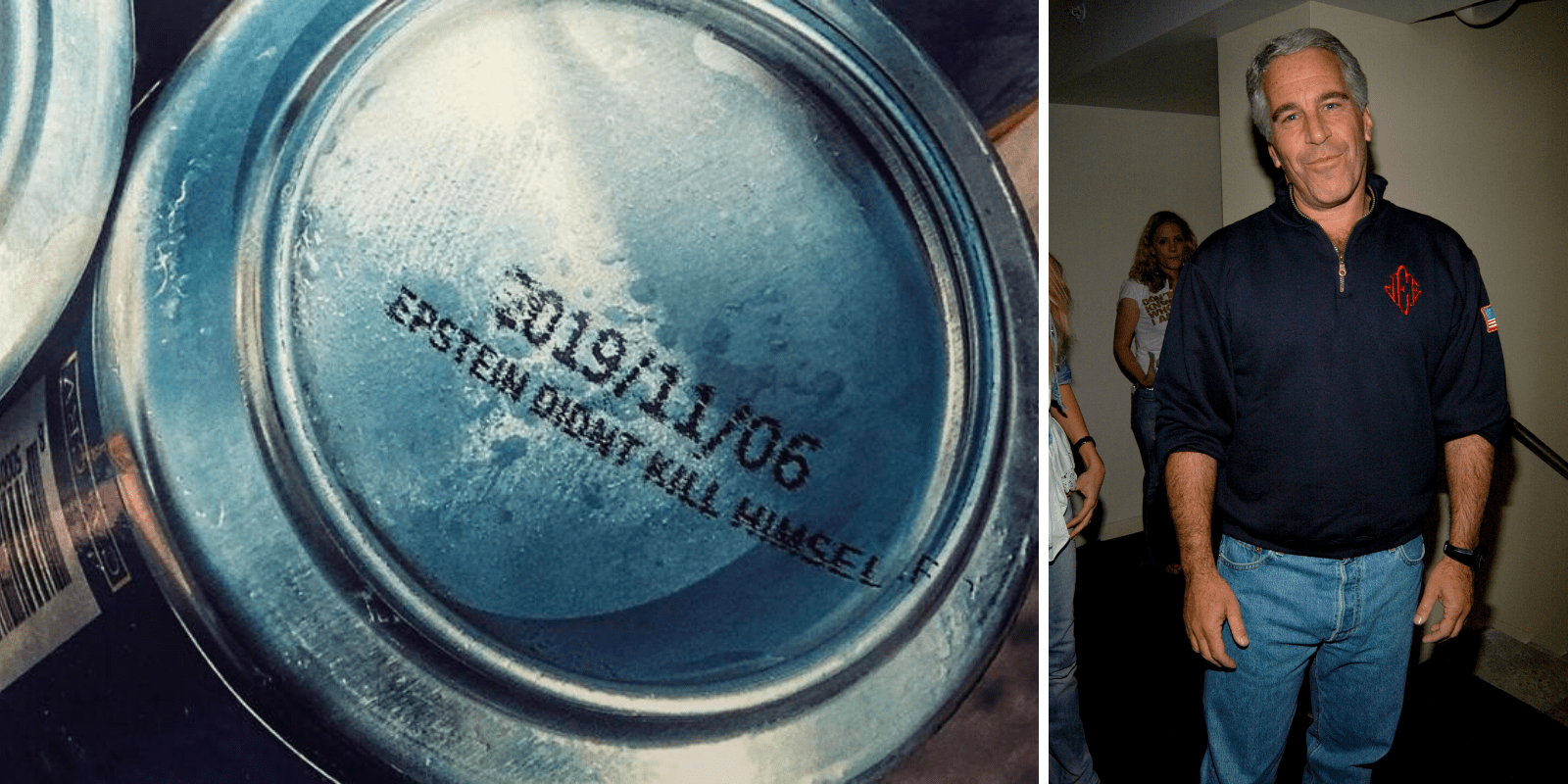 EPSTEIN DIDN'T KILL HIMSELF: Brewery releases secret message on beer cans