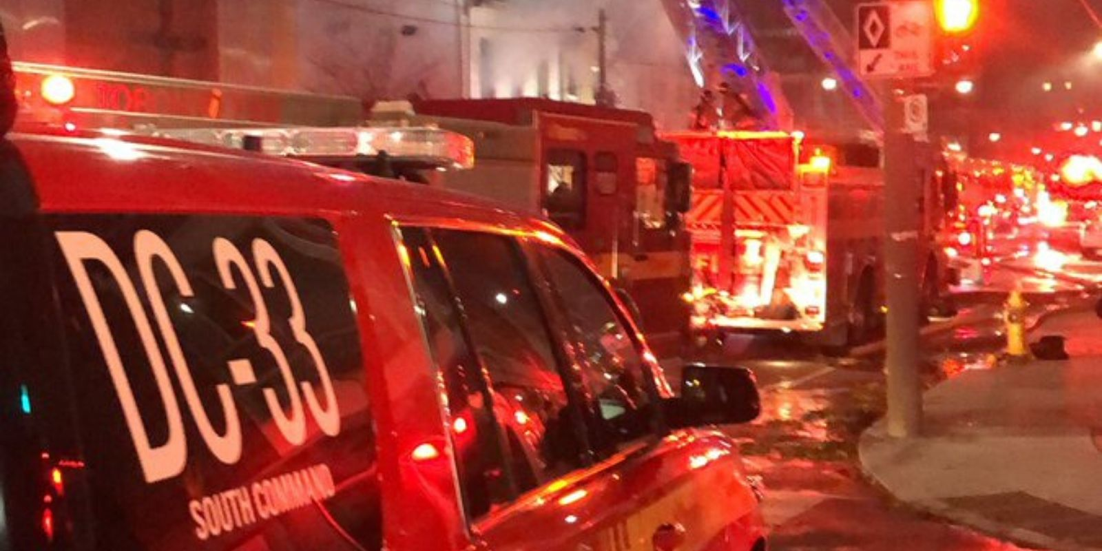 Toronto Fire Service captain in intensive care after devastating fall