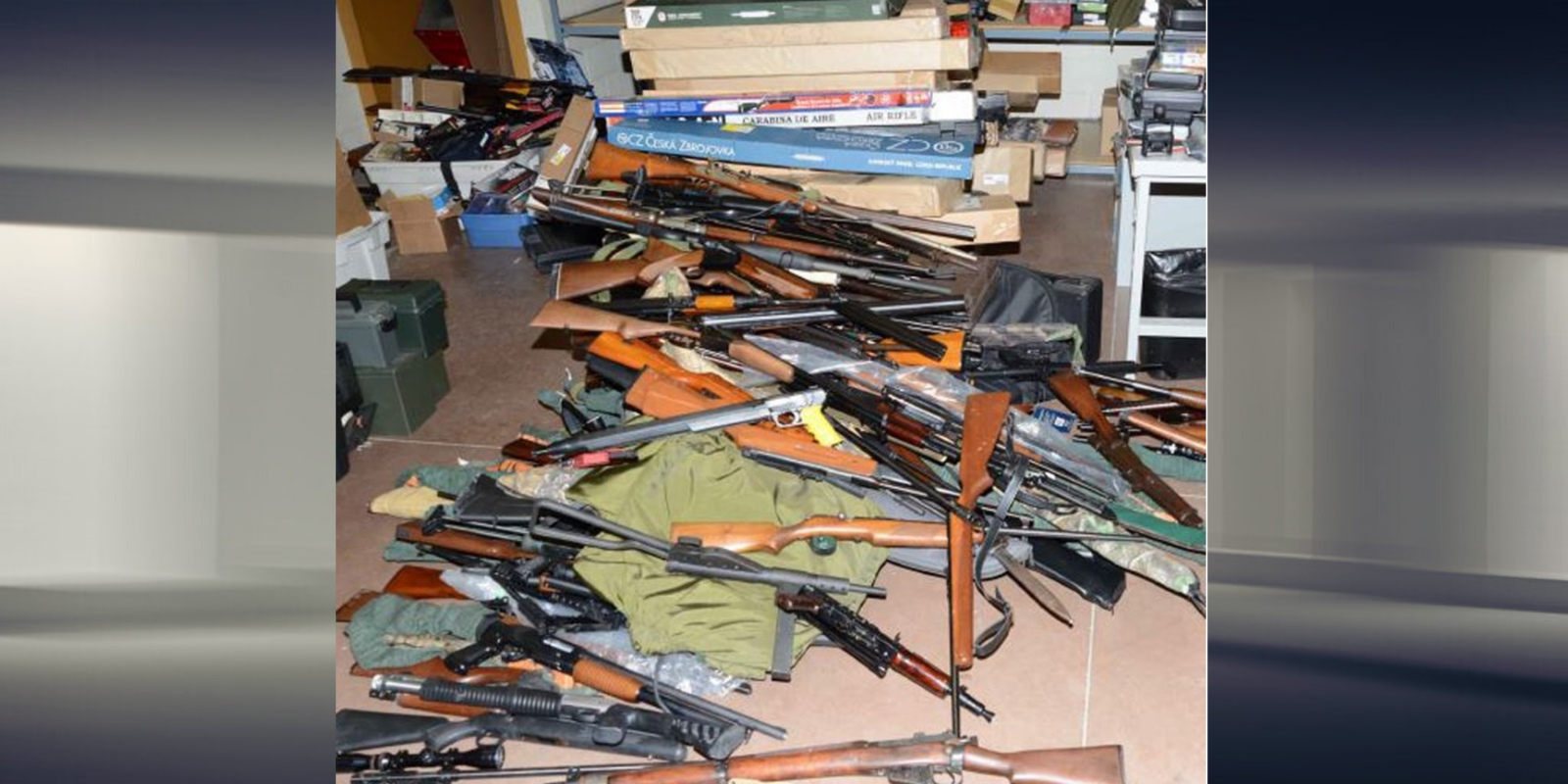 Over 850 guns found in Ottawa home after neighbour tattles to police