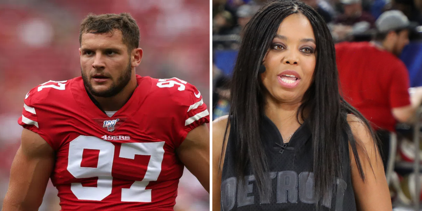 Jemele Hill tried to cancel NFL player Nick Bosa just before the Super Bowl
