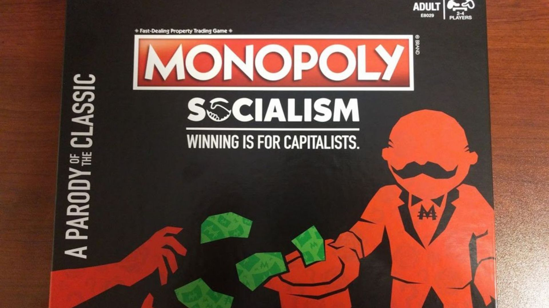 """Socialists aren't happy about Hasbro's new game """"Monopoly: Socialism"""""""