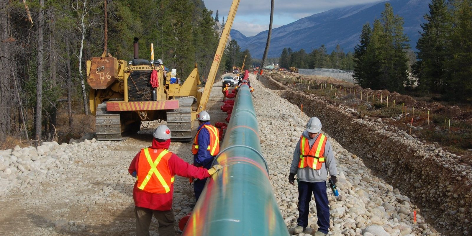 Trans Mountain to put first pipe in the ground