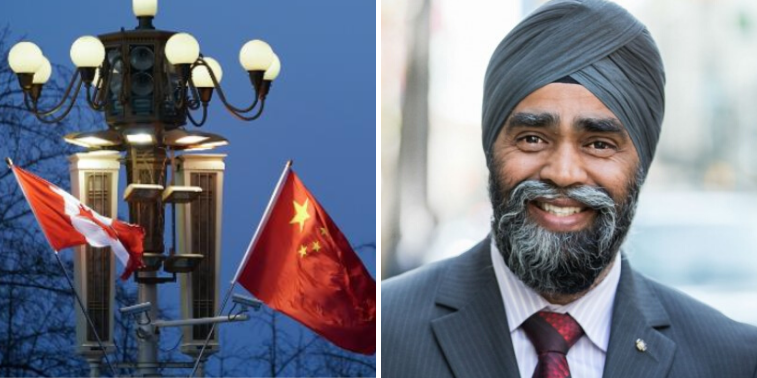 Canadian Defence Minister says China is not our adversary