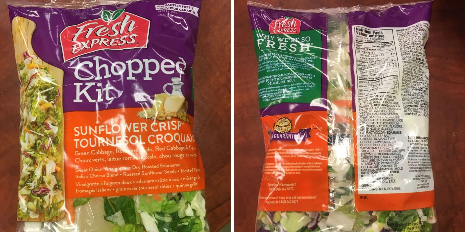 E. coli forces Fresh Express brand lettuce recall in Canada