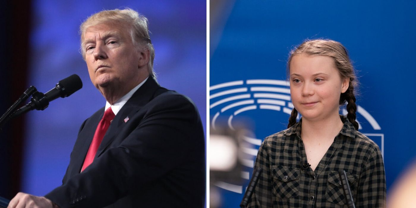 Trump tells Greta Thunberg to work on 'anger management' and 'chill'