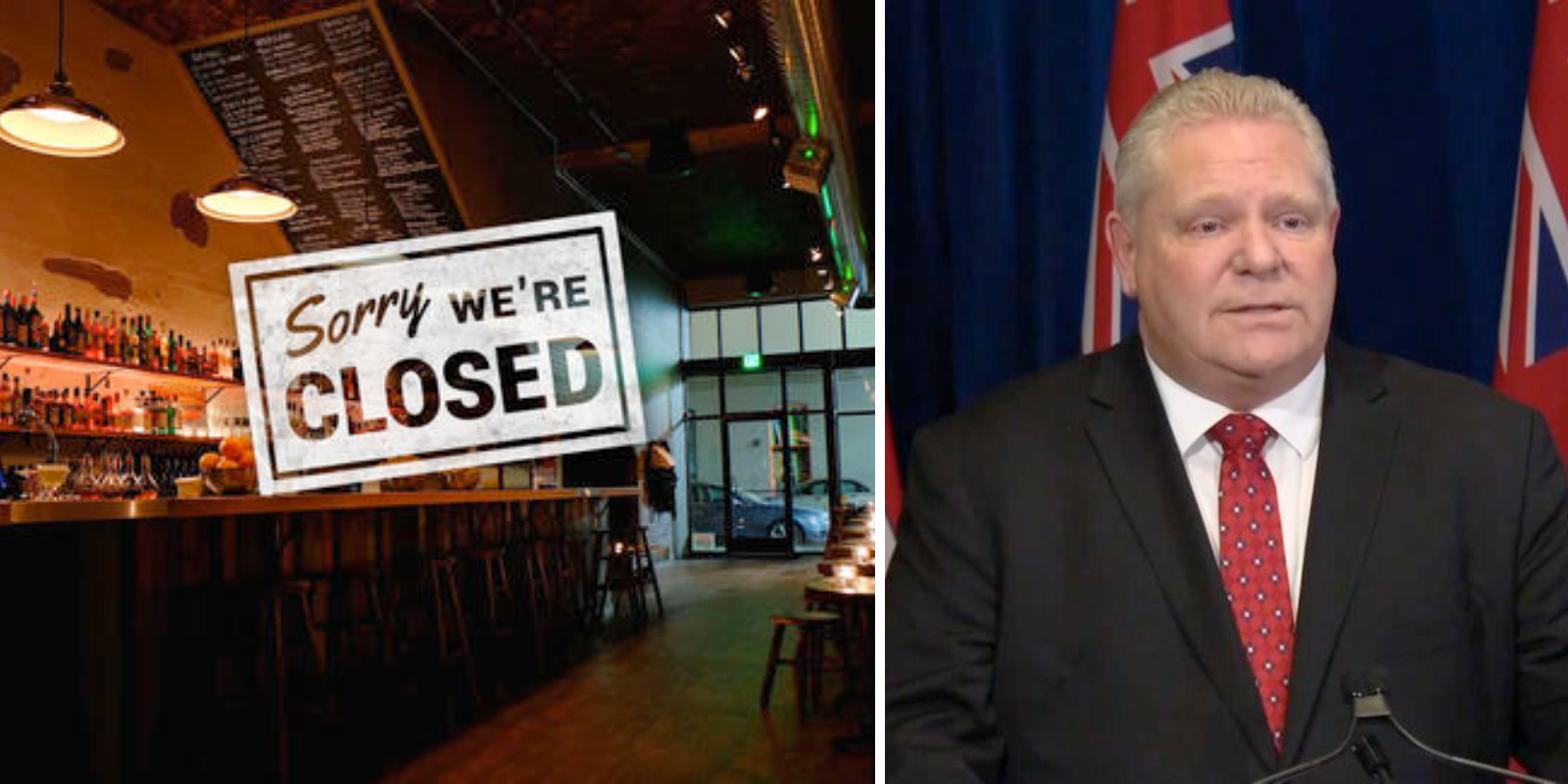 The Ford government should change its liquor laws to help businesses survive