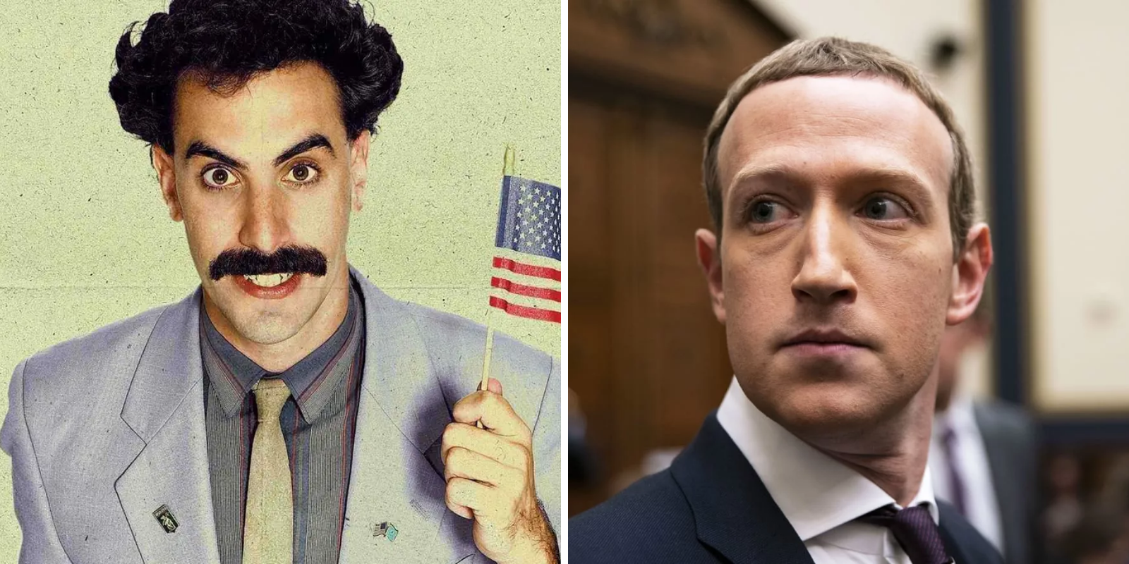 Sacha Baron Cohen would not survive his own Facebook reforms