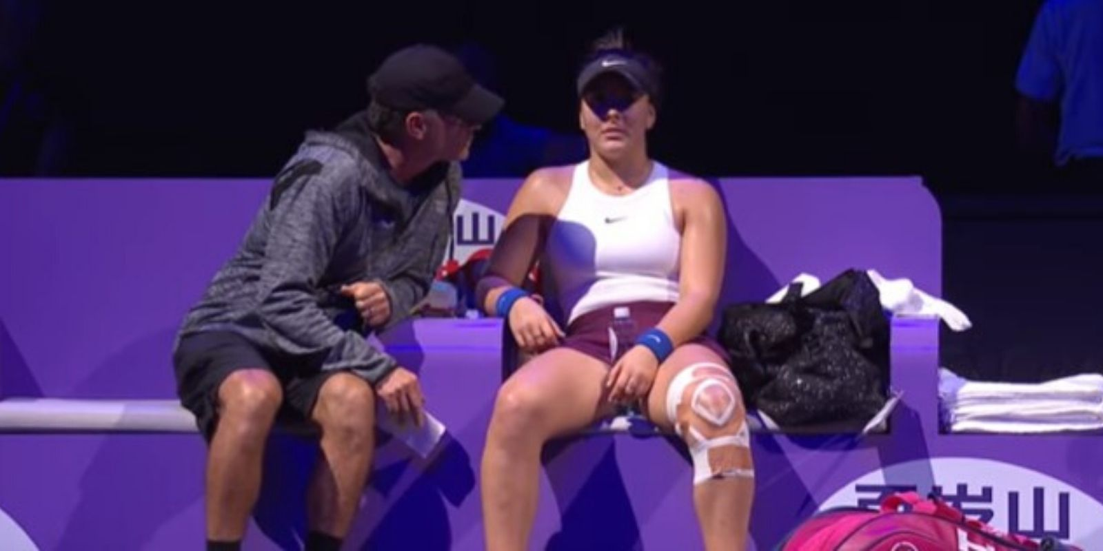 'I heard my knee crack'—Bianca Andreescu eliminated from WTA due to knee injury