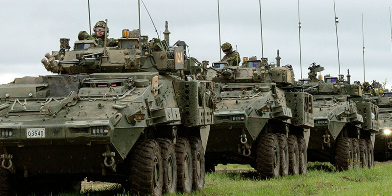 Saudi Arabia still owes Canada $3.4 billion in late payments for Canadian LAVs