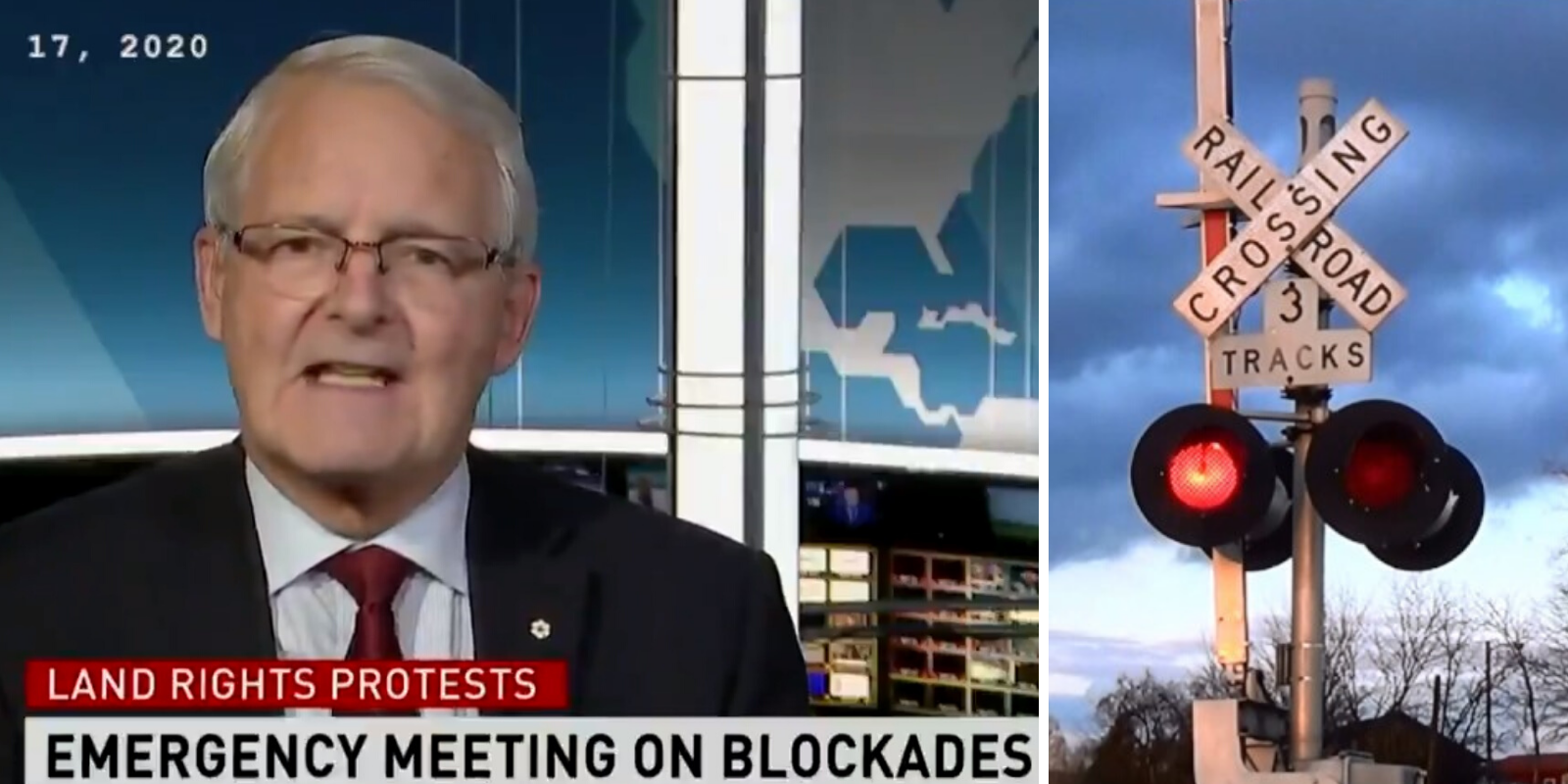 WATCH: Transport minister confirms anti-pipeline protestors tampered with railroad crossings