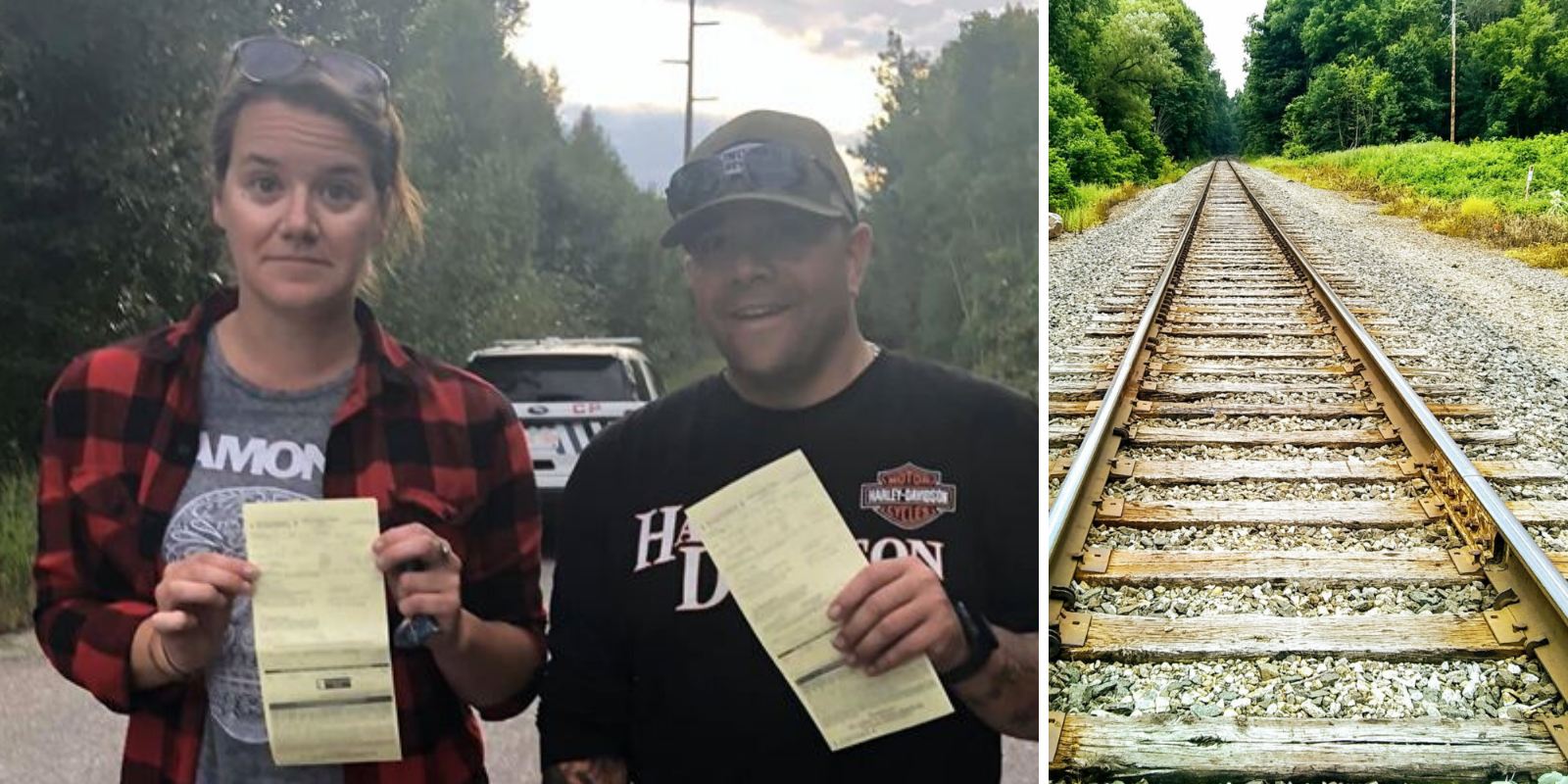 HYPOCRISY: Alberta couple given tickets for walking on CN land while blockaders get free pass