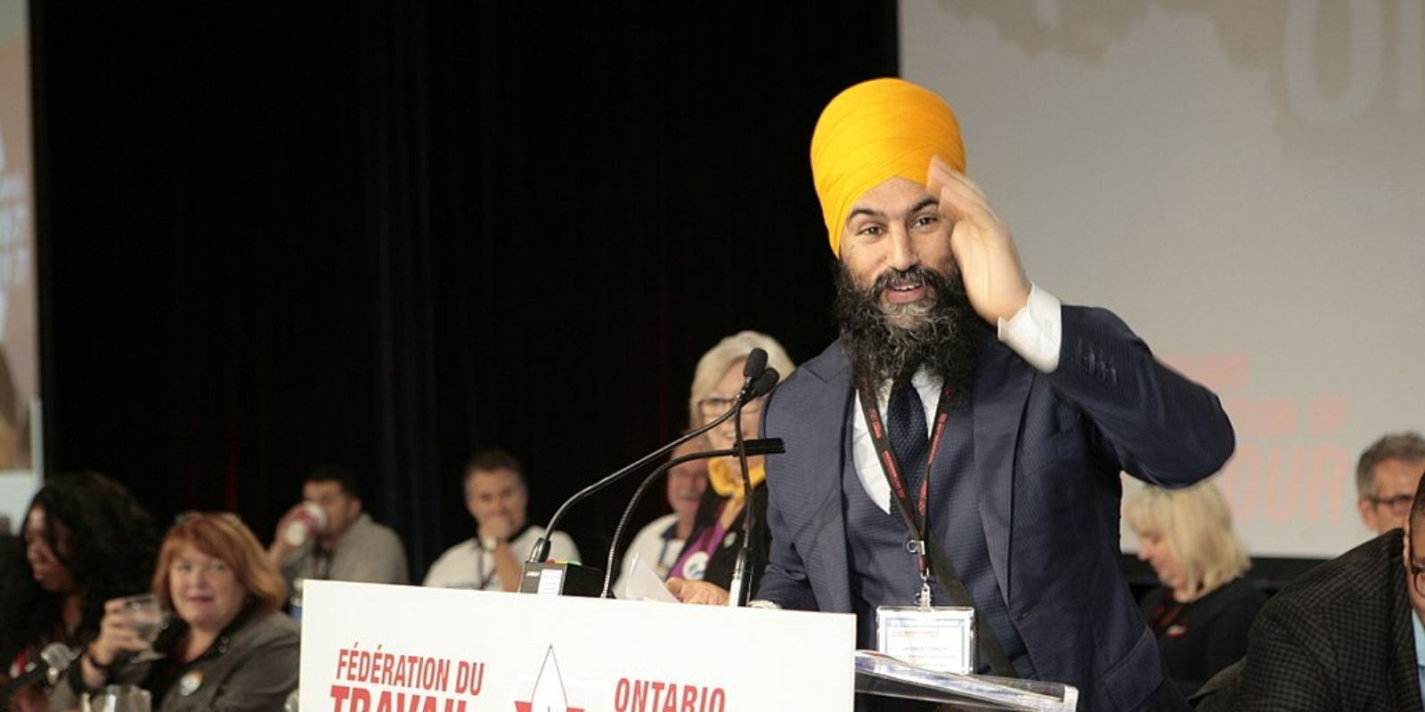 Jagmeet Singh publicly apologizes for saying he doesn't respect Conservatives