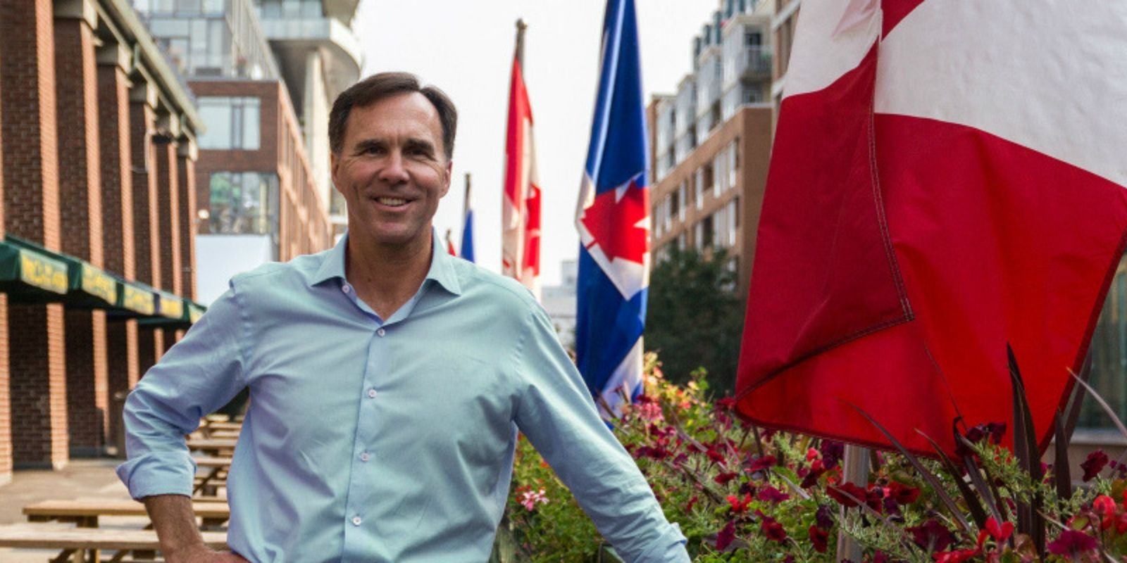 Liberal candidate Bill Morneau blows away the competition and retains seat
