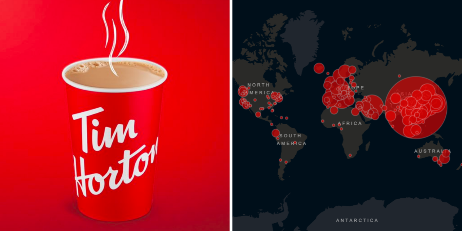 Tim Hortons suspends use of reusable cups due to coronavirus concerns