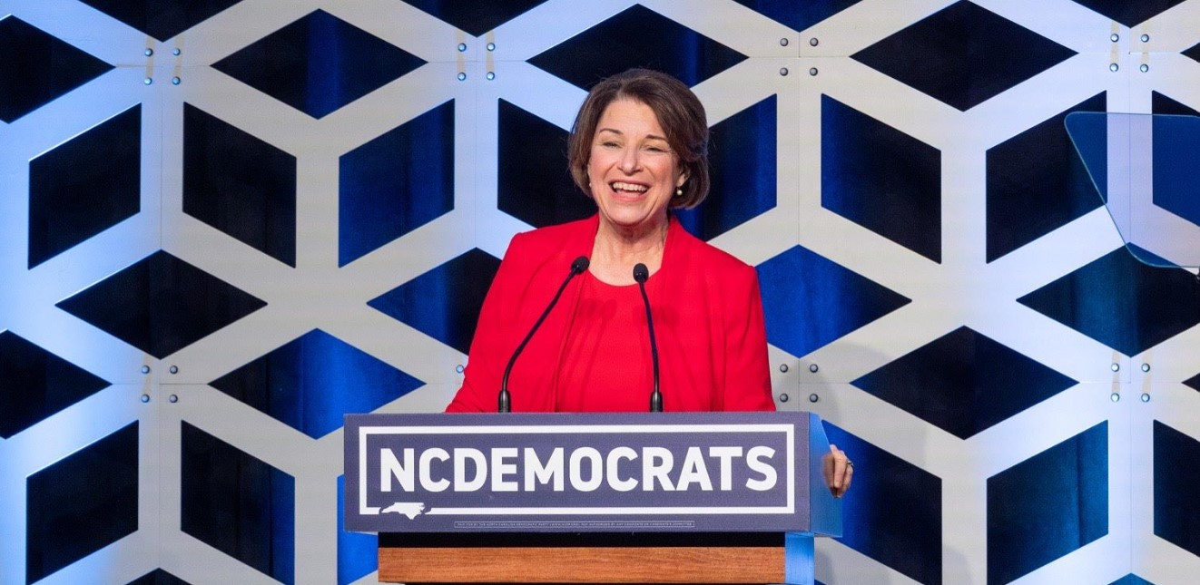 Amy Klobuchar drops out of Democratic presidential race