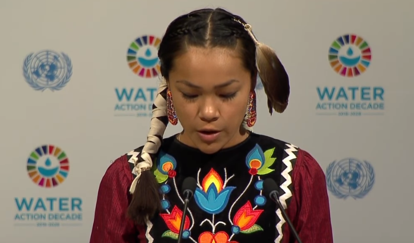 14-year-old Canadian to address UN about environmental issues