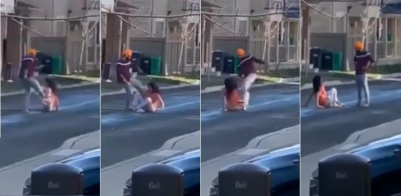 WATCH: Domestic abuse caught on video in Ontario, police investigating
