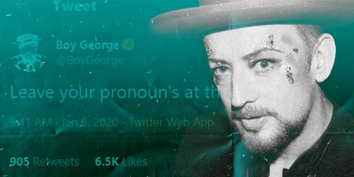 Boy George comes out swinging against wokeness