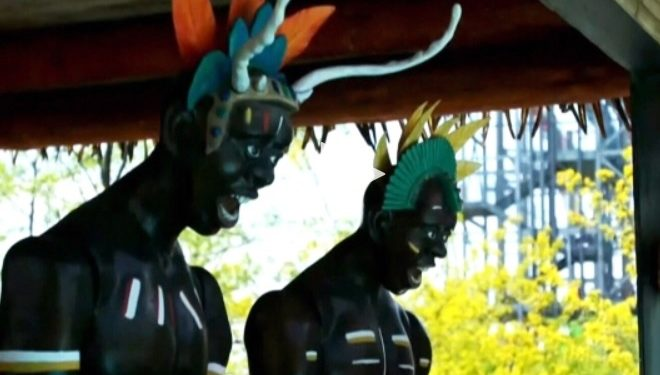Ontario waterpark accused of using racist imagery