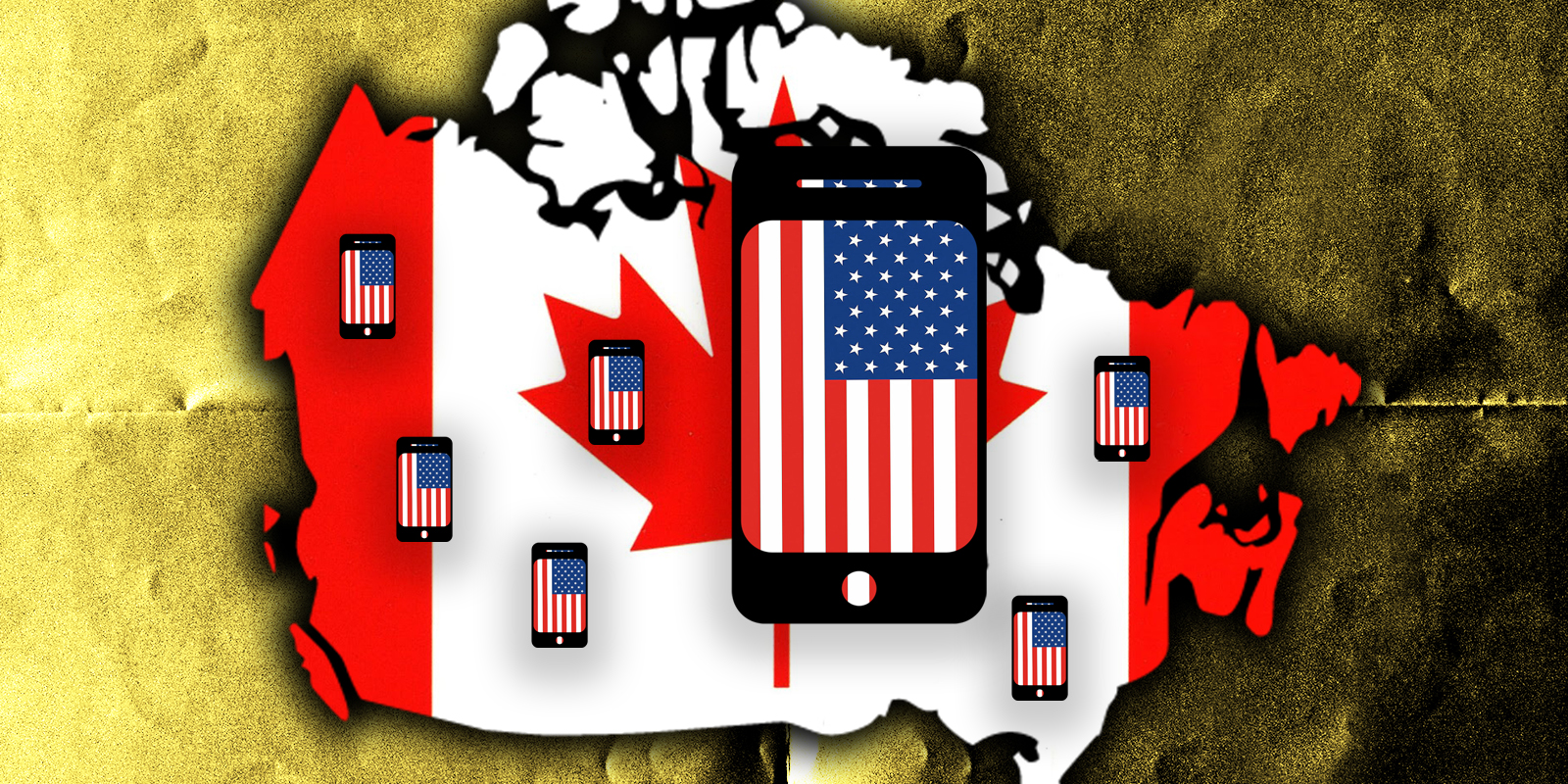 Canadians are avoiding Bell, Telus and Rogers by getting U.S. phone plans