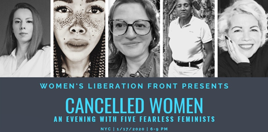 The New York Public Library cancelled a panel on cancelled women