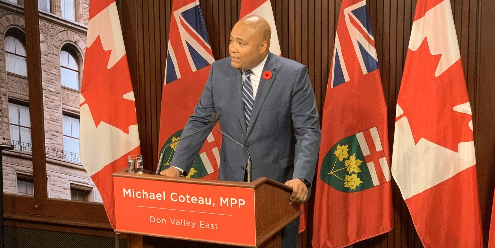 Ontario Liberal leadership candidate Coteau promises free public transit to fight climate change