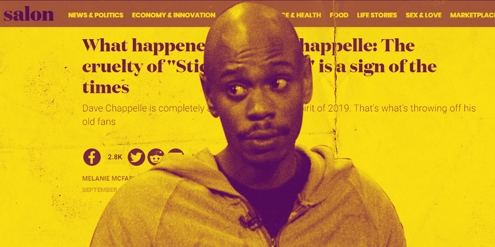 Why We Need Dave Chappelle