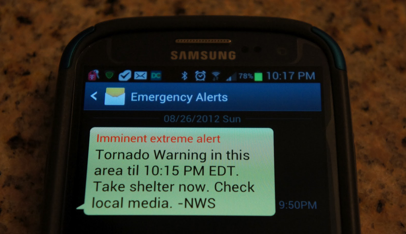 Canadians across the country getting test alert messages on their phones Wednesday afternoon